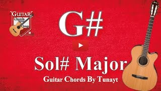 ★ ★ ★ Sol# Major | How To Play G# Chord On Guitar | Sol# Major Akoru Gitarda Nasıl Basılır ?