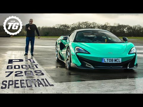 MCLAREN SHOWDOWN: P1 vs 720s, Speedtail vs F35, 600LT vs Ferrari Pista | Top Gear