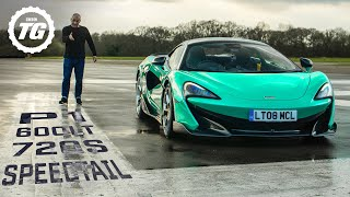 [Top Gear] MCLAREN SHOWDOWN: P1 vs 720s, Speedtail vs F35, 600LT vs Ferrari Pista