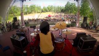"""Action"" Jay Jackson   Beijing China Drum Festival   Feat. CJ Thompson, Donyea, Jamal Hartwell & FKJ"
