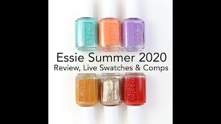 Essie Summer 2020 Collection: Review, Live Swatch & Comparisons