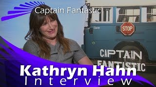 Kathryn Hahn Interview - Captain Fantastic