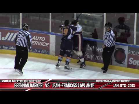 Brennan Barker vs. Jean-Francois Laplante