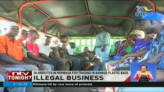 More than 30 arrested for using plastic bags