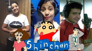 LIVE DUBBING of All SHINCHAN Characters