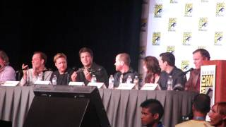 SDCC 2012: Firefly (Joss & Nathan) 10th Years Panel #3