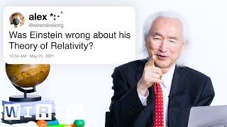 Il Dr. Michio Kaku risponde alle domande di fisica da Twitter | Supporto tecnico | CABLATA