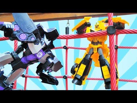 Giochi Al Parco Bumblebee E Le Macchine Transformer Giocattoli