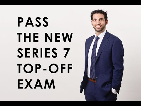 How to Pass the New Series 7 Top-Off Exam - YouTube