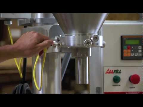 The B-350e Auger Filler | Product Highlight Video | All-Fill Inc. All-Fill Auger Filling Systems - Model B350e - Semi-Automatic