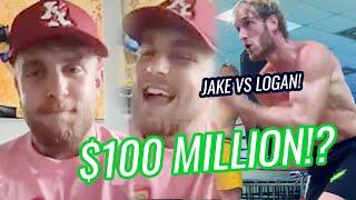 """I Have To Keep Winning."" Jake Paul To Fight Logan Paul For $100 MILLION!? Talks KSI & Mike Majlak 😱"