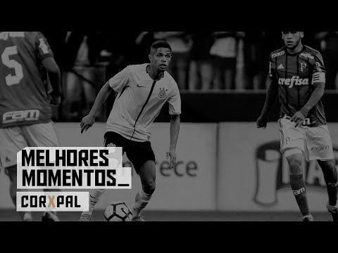 Melhores momentos - Corinthians 0x1 Palmeiras - Copa do Brasil Sub-17