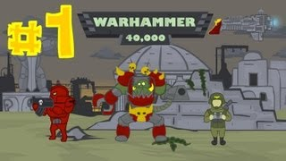 WARHAMMER 40000 cartoon №1