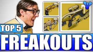 INSANE VoG Lucky Loot Drop Crazy Reaction Outs! Top 5 Funny Reactions Episode 424 - Destiny