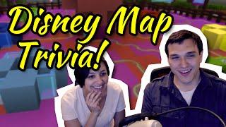 Map Trivia! | Disney Challenges