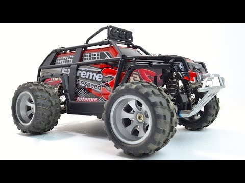 New WLTOYS 18409 Unboxing (Traxxas Summit???)