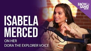 Isabela Merced Does Her Dora the Explorer Voice