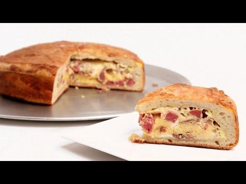 Mamma's Pizza Rustica Recipe – Laura Vitale – Laura in the Kitchen Episode 891