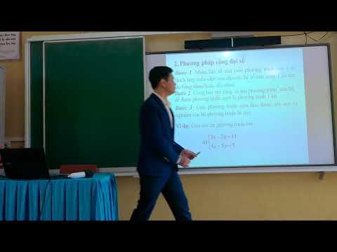 Toán 9: Giải hệ phương trình bậc nhất hai ẩn, Lê Văn Tình, TH&THCS Thượng Bằng La, Văn Chấn