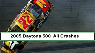 All NASCAR Crashes From The 2005 Daytona 500
