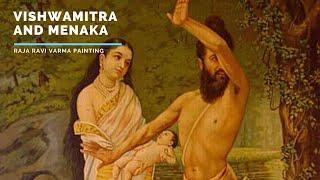 Vishwamitra and Menaka by Raja Ravi Varma