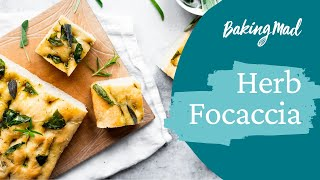 How to make herb foccacia by allinson