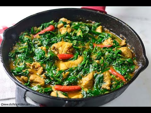 Chicken Recipes: Sauteed Chicken with Spinach
