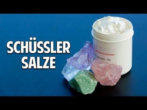 Heilmittel Schüssler Salze - Zellsalze des Lebens