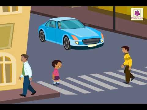 Traffic Rules And Signs For Kids | Tips for Road Safety for Kids | Periwinkle