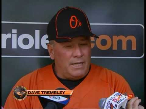 Dave Trembley met with the media to discuss Brian Roberts' injury