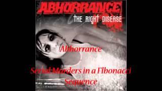 Abhorrance - Serial Murders in a Flbonacci Sequence