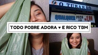 DIA DE SACOLADA NA LOJA DE 1 REAL + TOUR PELA LOJA!!!