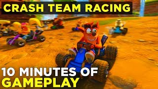 Crash Team Racing Nitro-Fueled GAMEPLAY | Three Remastered Tracks