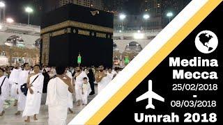 Vlog 19    My First Umrah 2018 | Medina & Mecca