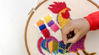 Sri Lankan Hand Embroidery Designs For Beginners | By DIY Stitching