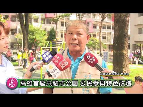 高雄首座公民參與共融式公園改造完成 李四川期以帶頭示範
