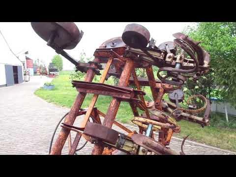 Howard Optinal 8 Reihig 6 Reihige Rollhacke Hydr Klappbar auf 8 Reihen erwiterbar