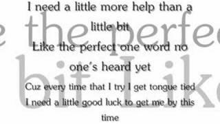 Tongue Tied- Faber Drive (Lyrics)
