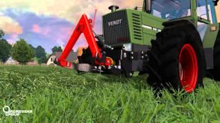 "AgrovekaGroup ""Ž.Ū.B"" | Making Silage Bales | Farming Simulator 2015(Multiplayer)"