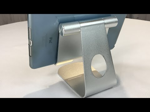 Oenbopo 360° Rotatable Aluminum Alloy Desktop Holder Tablet Stand review