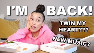 LIFE UPDATE MUKBANG (DID I FIND LOVE ON TWIN MY HEART?)