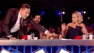 GOLDEN BUZZER! David Was WRONG And He Fixes His Mistake | Week 6 | Britain's Got Talent 2017