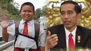 Tiap Hari Lewati 2 Negara Untuk Bersekolah, Bocah SD di Malaysia Dapat Hadiah dari Presiden Jokowi