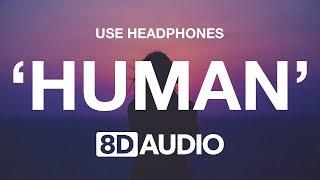 Rag'n'Bone Man   Human (8D AUDIO) 🎧