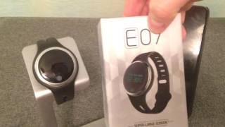 Review: E07 SmartWatch Sport Band Watch