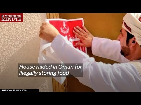House raided in Oman for illegally storing food
