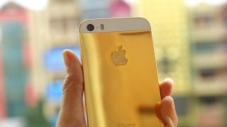 24K gold iPhone SE, Karalux unveil Vietnam's first 24K gold-plated iPhoneSE