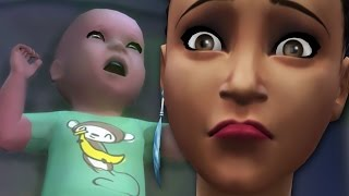 GETTING RID OF SOMEONE'S BABY :O - The Sims 4: Problem Child #2