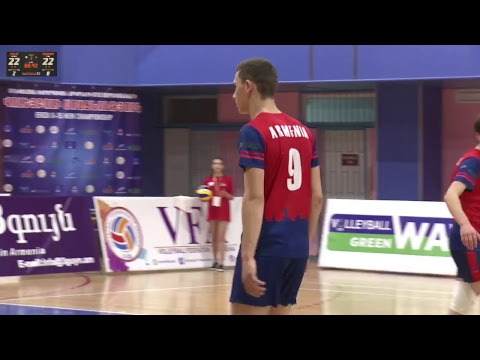 Volleyball EEVZA U-15 Men Championship 13.12.2018 Day1 Mp3