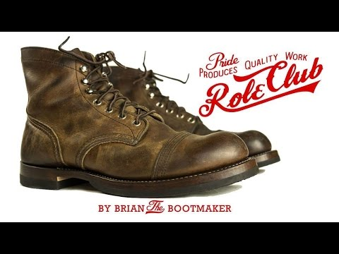 red wing iron ranger resole 13 brian the bootmaker